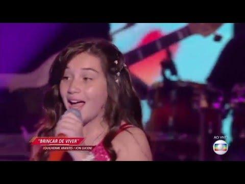 Pérola Crepaldi canta 'Brincar de viver' no The Voice Kids - Semifinal |Temporada 1