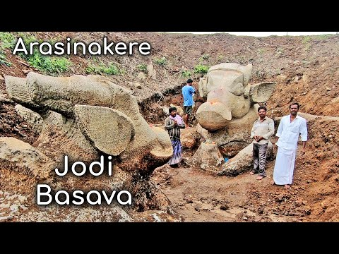 Centuries old Nandi statues excavated Arasinakere Jodi Basava Mysore Tourism Karnataka Tourism from YouTube · Duration:  15 minutes 20 seconds