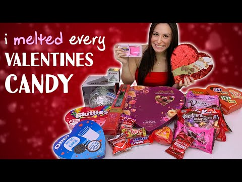 MELTING EVERY ❤️VALENTINES DAY ❤️ CANDY TOGETHER