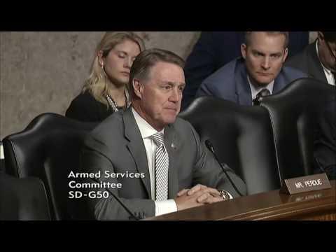 Senator David Perdue in SASC