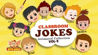 Funny Classroom Jokes - Animated Collection Vol - 2