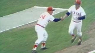 1975 ALCS Gm2: Yastrzemski's two-run home run