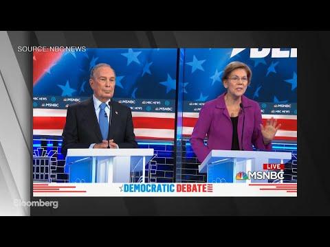 Warren Attacks Bloomberg During Democratic Debate