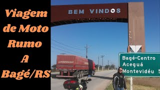 Passeio de moto Rumo a Bagé