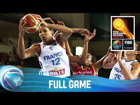 France v Mozambique - Full Game - Group B - 2014 FIBA World Championship for Women