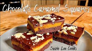 Suzie's Chocolate Caramel Squares