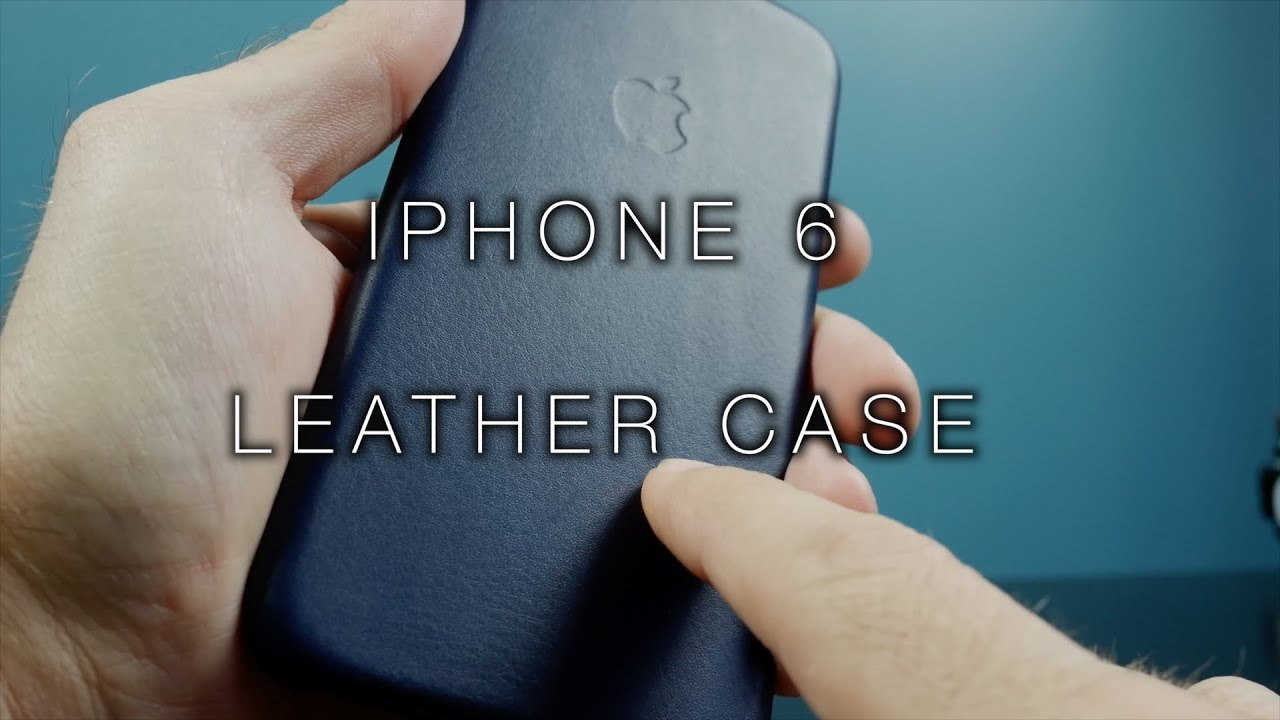 iphone 6 navy leather case