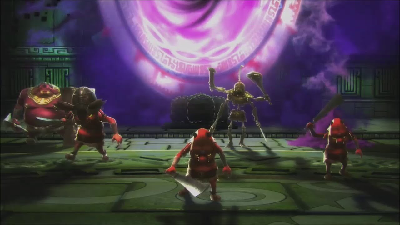 Hyrule Warriors 100 Walkthrough Stage 4 The Sorceress Of The Valley Valley Of Seers Sheik Youtube