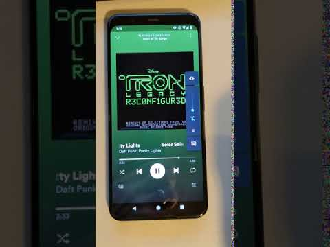 Android 12 audio coupled haptic effect demo 1