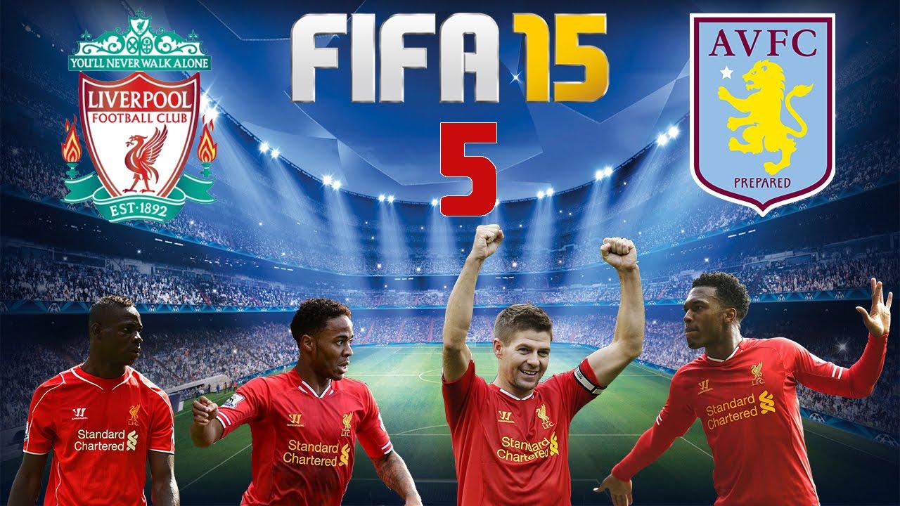 Let's Play FIFA 15 #005 - FC Liverpool - Aston Villa [Full ...