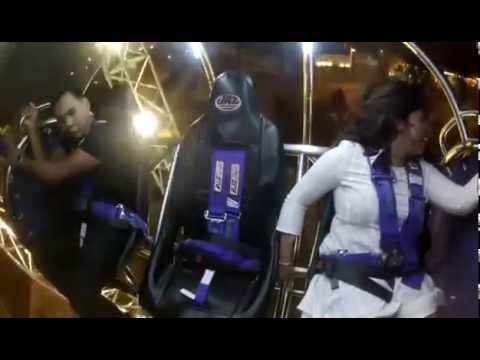 BEST Funny Video ever - Couple in Roller Coaster Clark Quay Singapore / Crazy Boyfriend Funniest Guy