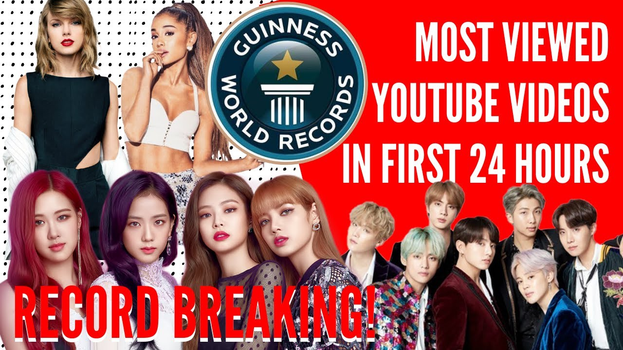 Most Viewed Music Videos In First 24 Hours L Top 10 2020 Youtube