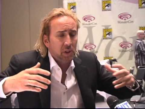 Epic Nicolas Cage interview discussing Sorcerer's Apprentice, Kick-Ass and even The Wicker Man