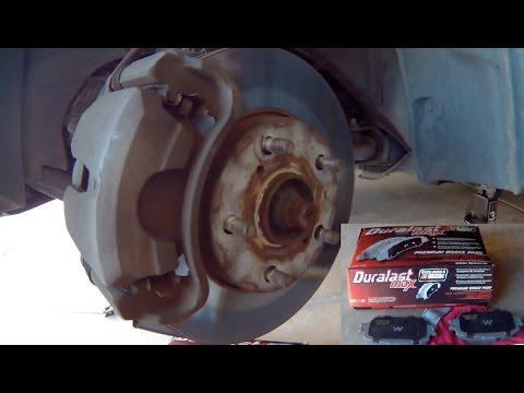 Toyota Camry Brake Pad Replacement 2005 Le Easy And Concise