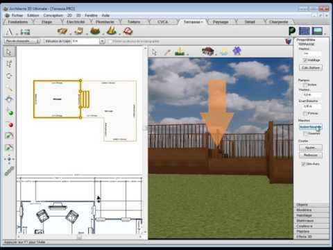 dessiner sa terrasse en 3d gratuit awesome logiciel d gratuit pour dessiner le plan de sa. Black Bedroom Furniture Sets. Home Design Ideas