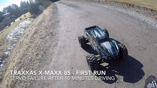 Traxxas X Maxx Broken Servo