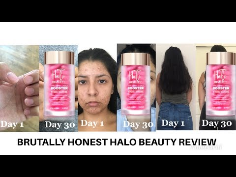 BRUTALLY HONEST HALO BEAUTY REVIEW WITH BEFORE + AFTER PICS | Zoey