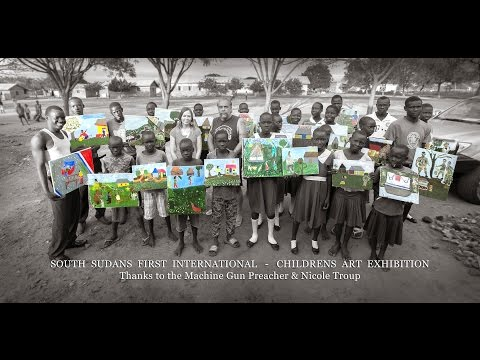 South Sudan's - FIRST Truly International - Children's Art Exhibition in the USA