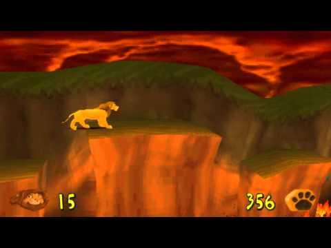 Le Roi Lion (Playstation) - Niveau 6 - Le Savane En Feu