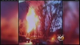 Fire Scorches 96-Foot Christmas Tree At South Coast Plaza