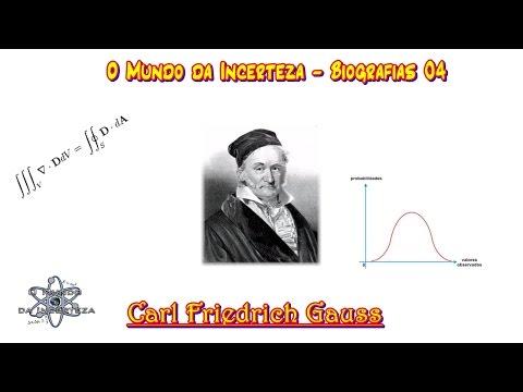 Biografias 04  - Carl Friedrich Gauss