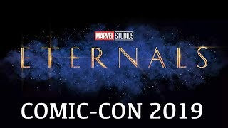 Marvel's Eternals SDCC reveal (2020) MCU Phase 4