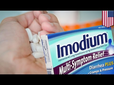 Anti-diarrhea drug Imodium is being used to curb opioid crav