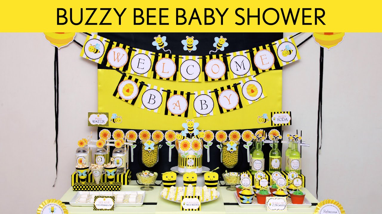 Buzzy Bee Birthday Party Ideas