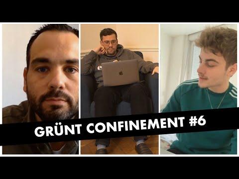 Youtube: Grünt Confinement #6 avec Bekar et Etienne Menu
