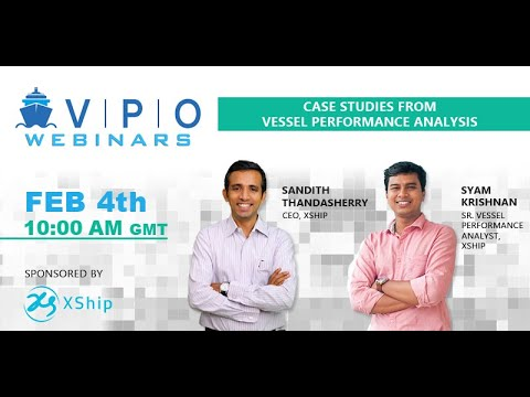 Case studies from vessel performance analysis from XShip | VPO webinar