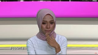 CCTV Nadya Syahera Menangis Dedah Krisis Rumah Tangga