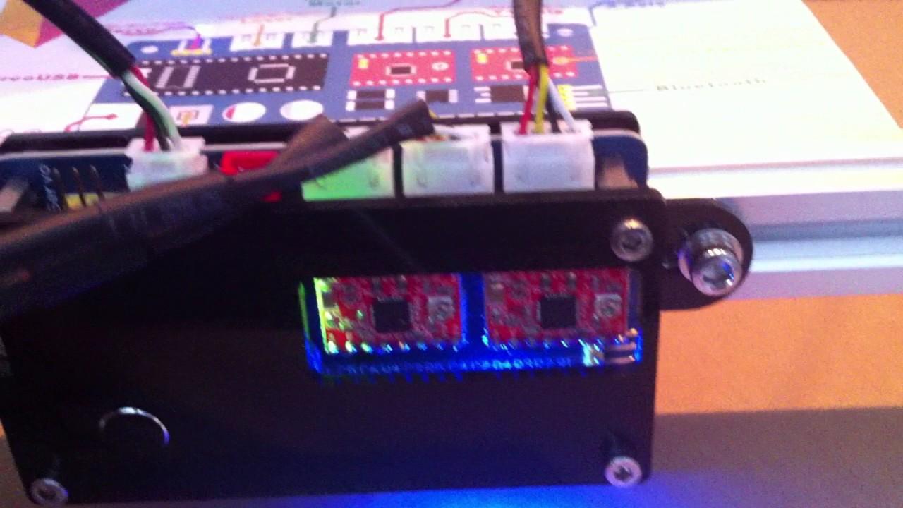 Bangood Elekslaser Etcher 2500mw Laser problems by Brian Mathis