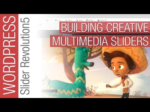 Build Creative Multimedia Sliders with Slider Revolution 5