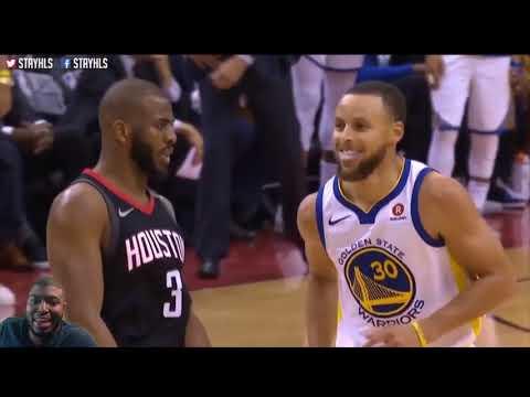 Golden State Warriors Vs Houston Rockets Game 5 (NBA PLAYOFFS 2018 RD3) REACTION FULL HIGHLIGHT