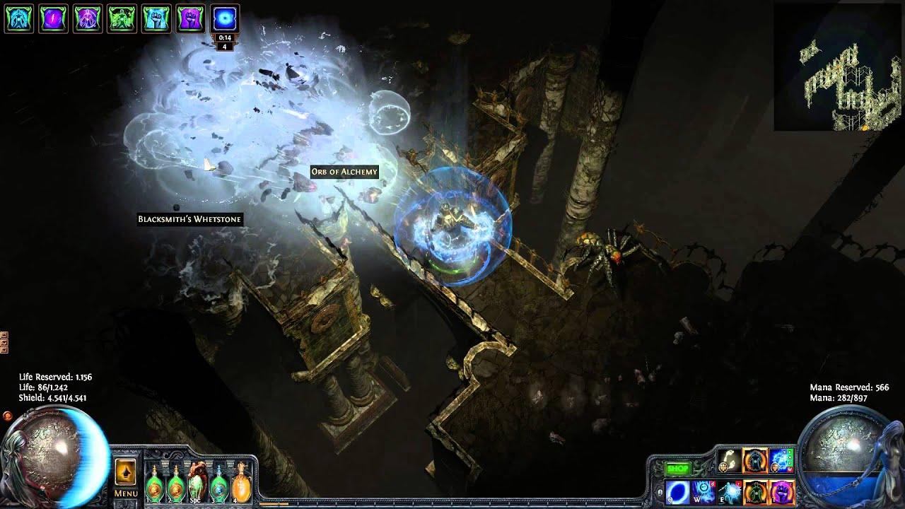 Poe How To Build A Kenetic Blast Wander