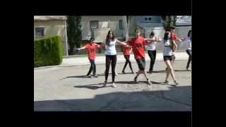 Danza griega alumnos y alumnas I.E.S Los Cerros