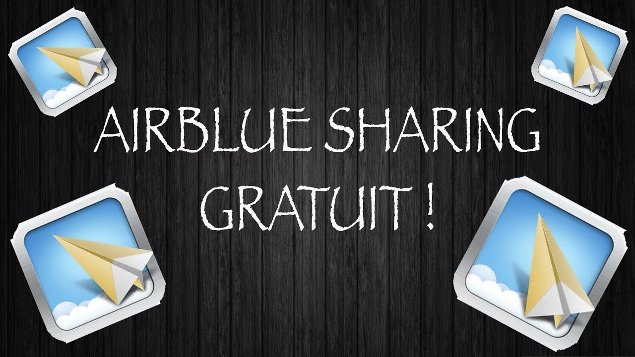 airblue sharing gratuit