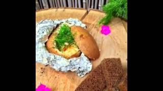 Запеченный картофель.    Готовим легко и вкусно!