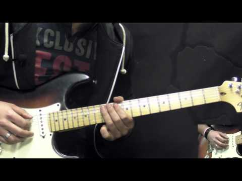 Stevie Ray Vaughan - Little Wing - Blues/Rock Guitar Lesson Part2 (w/Tabs)