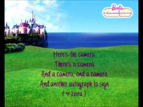 Barbie The Princess and The Popstar - To Be A Princess / Popstar w/lyrics