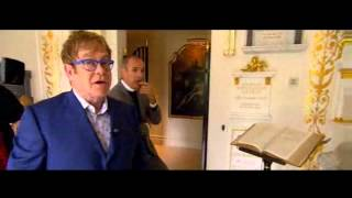 A peek into ELTON JOHN'S Private Chapel