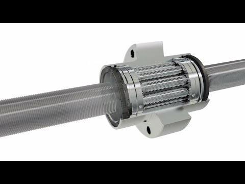 The new Planetary Screw Assembly (PLSA) from Bosch Rexroth