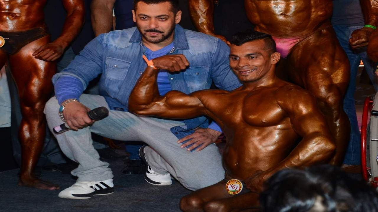 Salman Khan's CRAZY Gym Workout Fitness B0DY Building ... |Salman Khan Workout In Gym