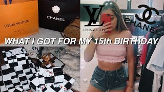 WHAT I GOT FOR MY 15TH BIRTHDAY! | nickelrios
