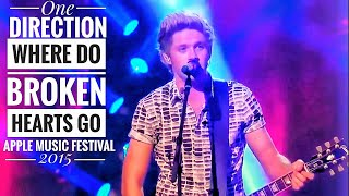 Download One direction - Where do broken hearts go || Live at Apple music🍎 festival 2015_OTRA