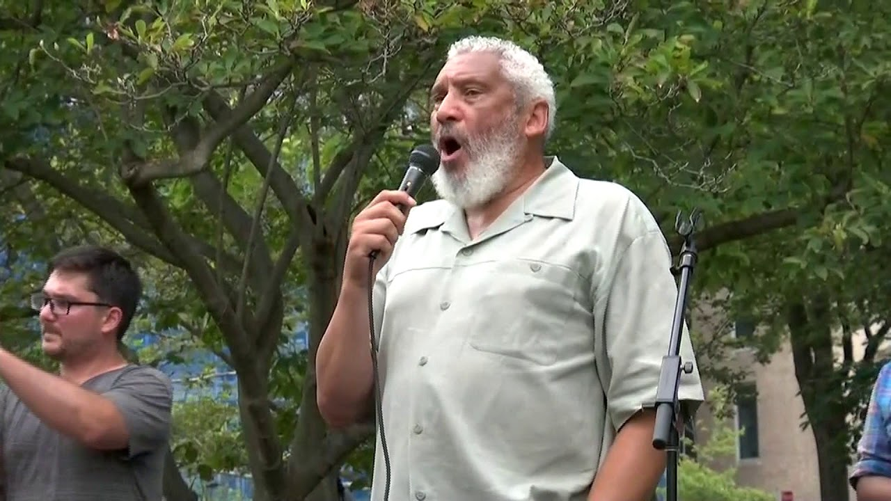Speaker at  Unite the Right 2 Rally | Thousands of counter protesters take to DC's streets