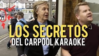 los secretos del carpool karaoke de paul mccartney