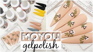 MoYou London gelpolish swatches en stamping NAILART ♥ Beautynailsfun.nl