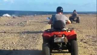 4 wheeling on Curacao