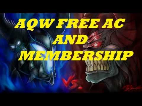 AQW FREE AC AND MEMBERSHIP 2014 LIMITED TIME ONLY